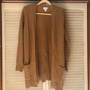 Camel color old navy cardigan